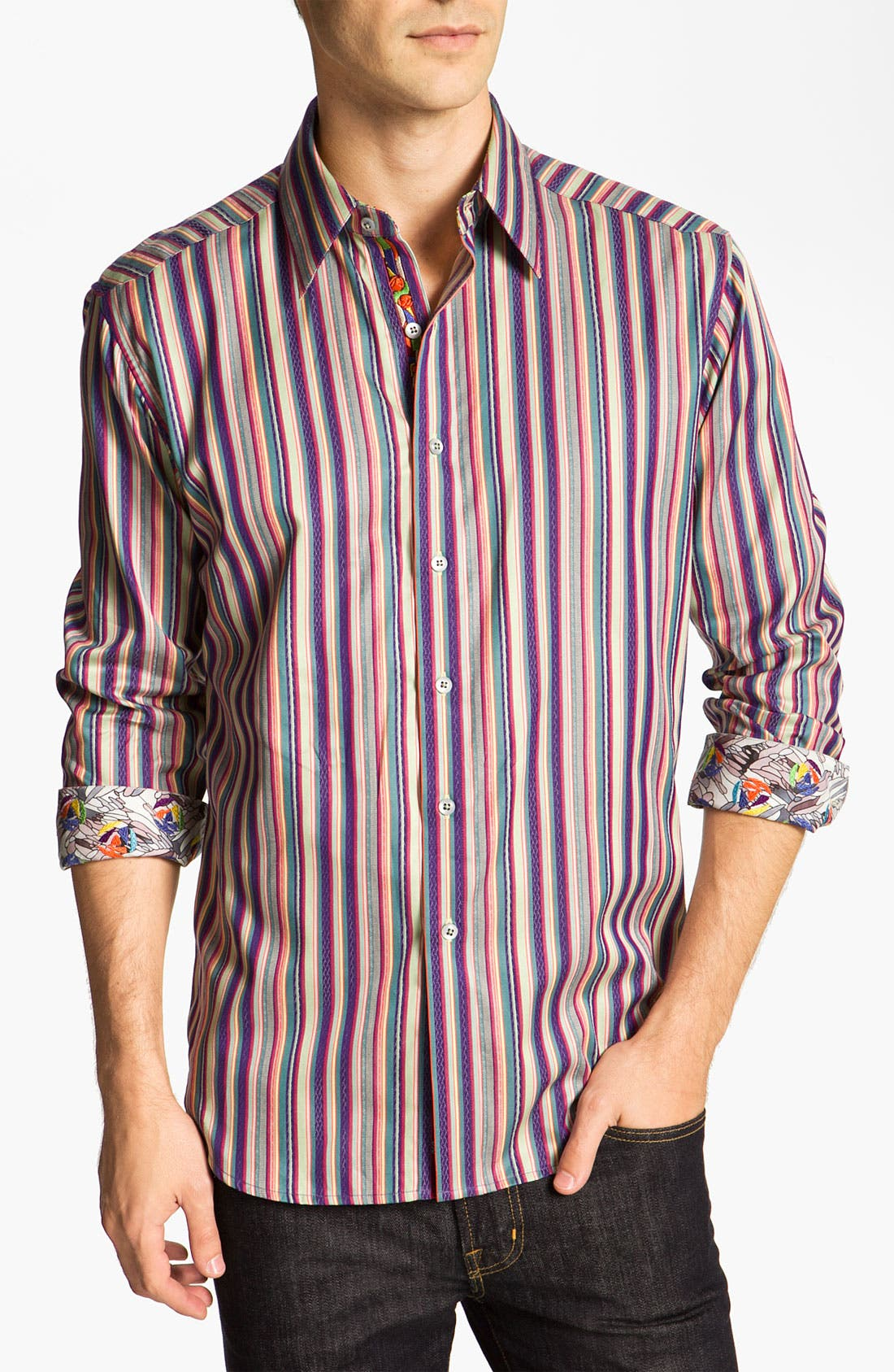 Alternate Image 1 Selected - Robert Graham 'Montaza' Sport Shirt