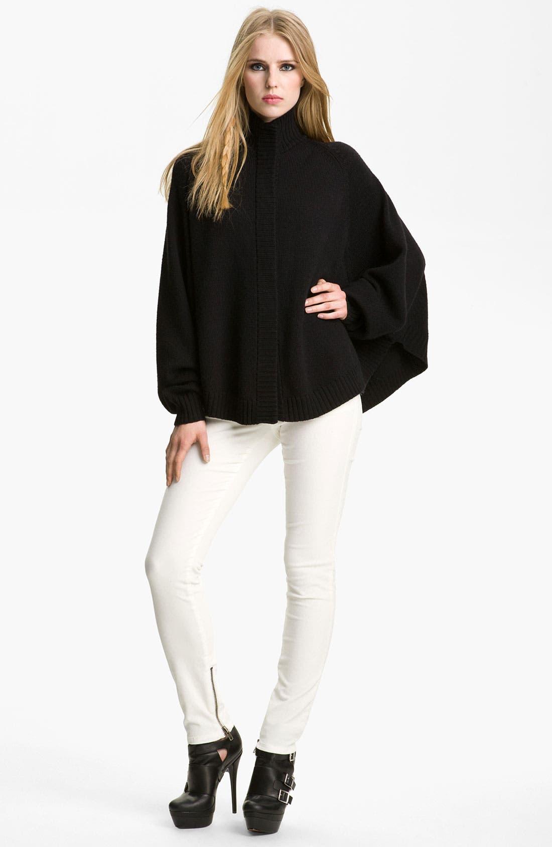 Main Image - Rachel Zoe 'Nina' Merino Wool Sweater Cape
