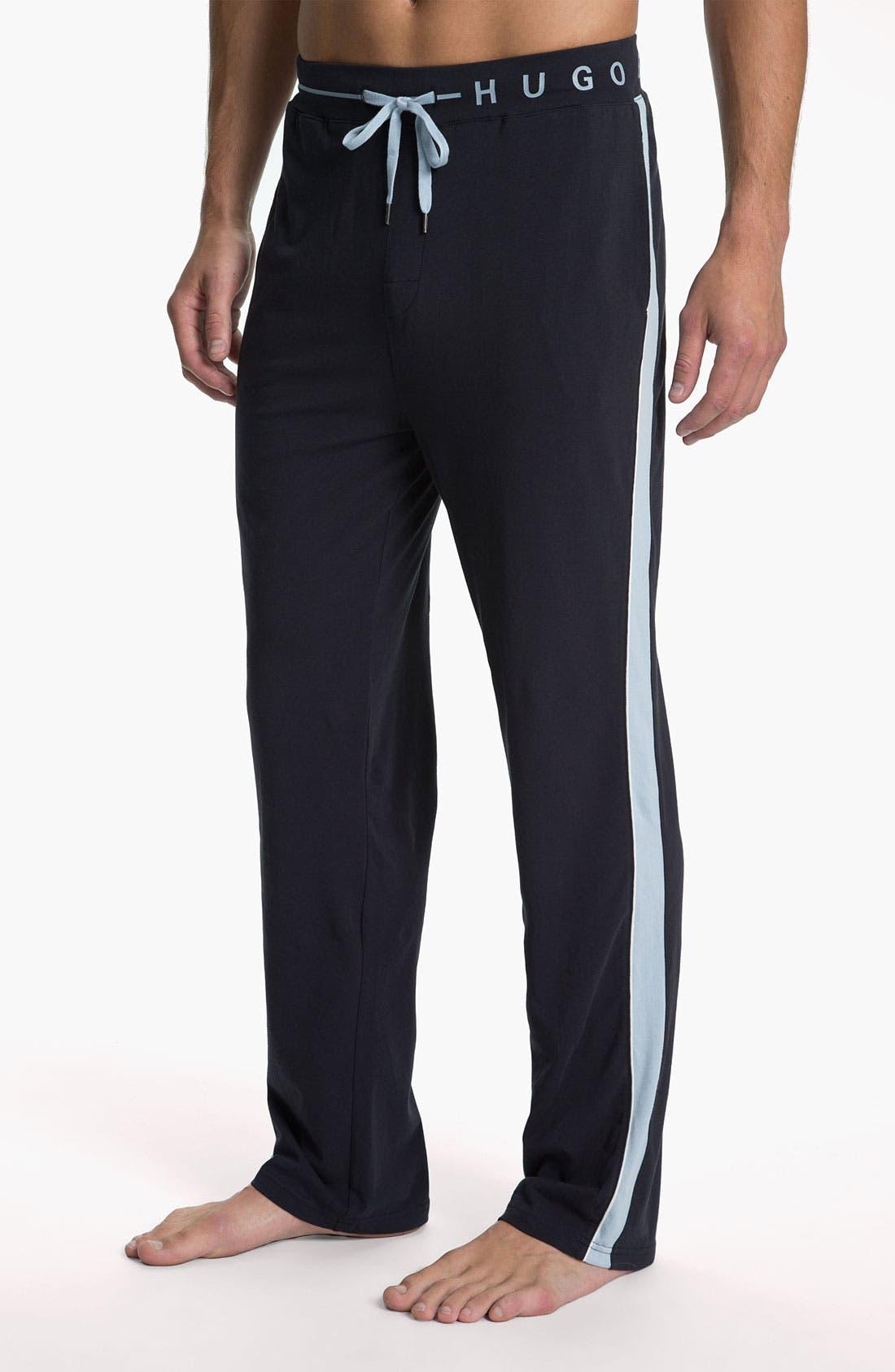 Alternate Image 1 Selected - BOSS Black Lounge Pants