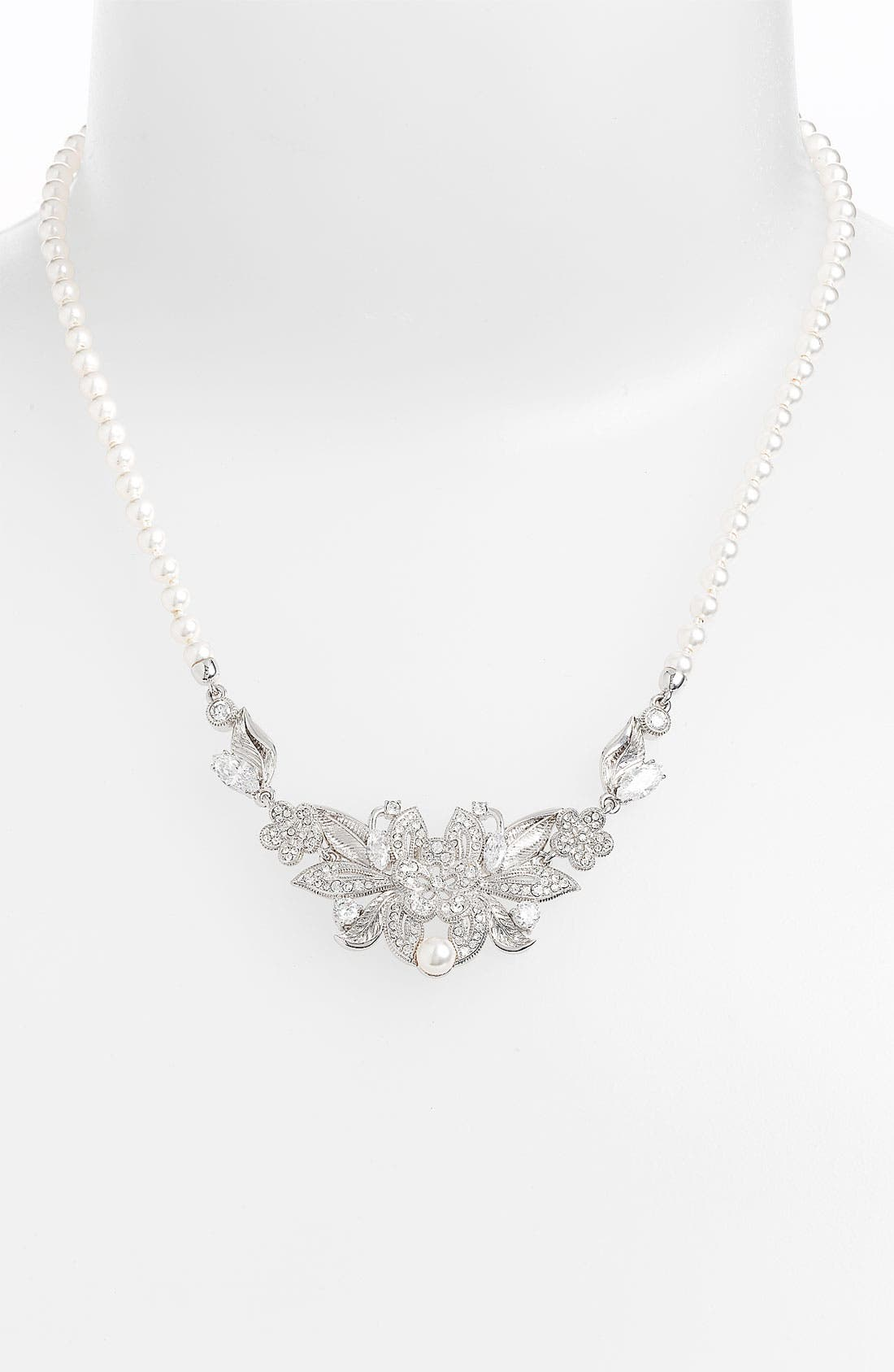 Alternate Image 1 Selected - Nadri Frontal Necklace (Nordstrom Exclusive)