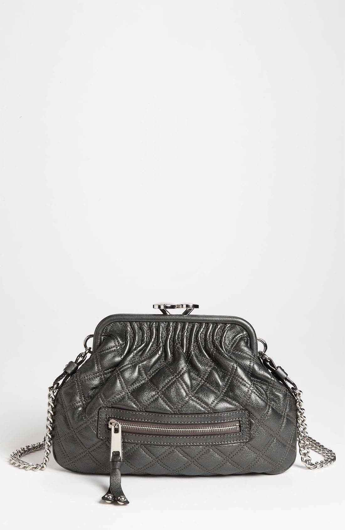 Alternate Image 1 Selected - MARC JACOBS 'Little Stam' Leather Crossbody Bag