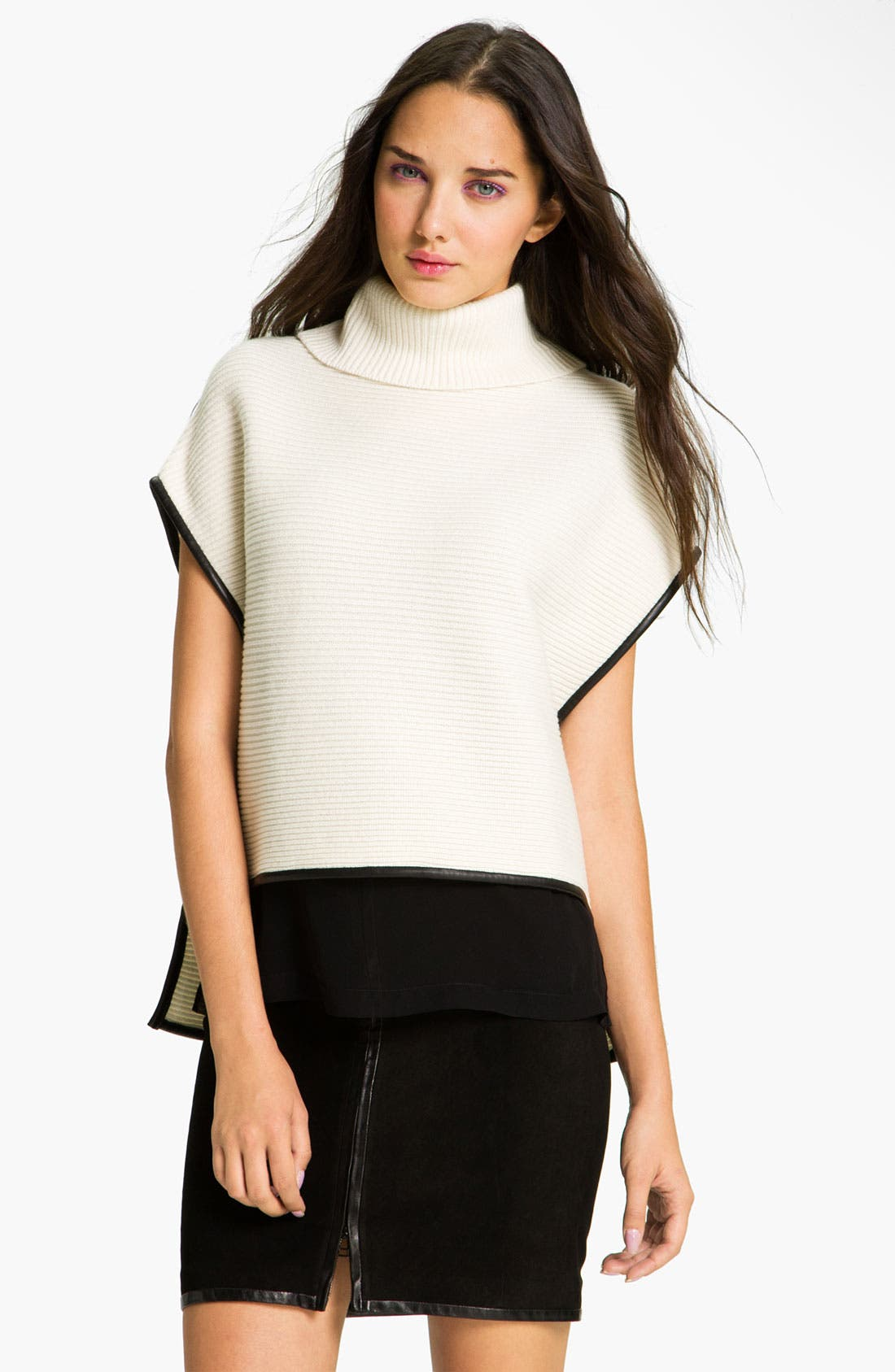 Main Image - Robert Rodriguez Ribbed Turtleneck Sweater