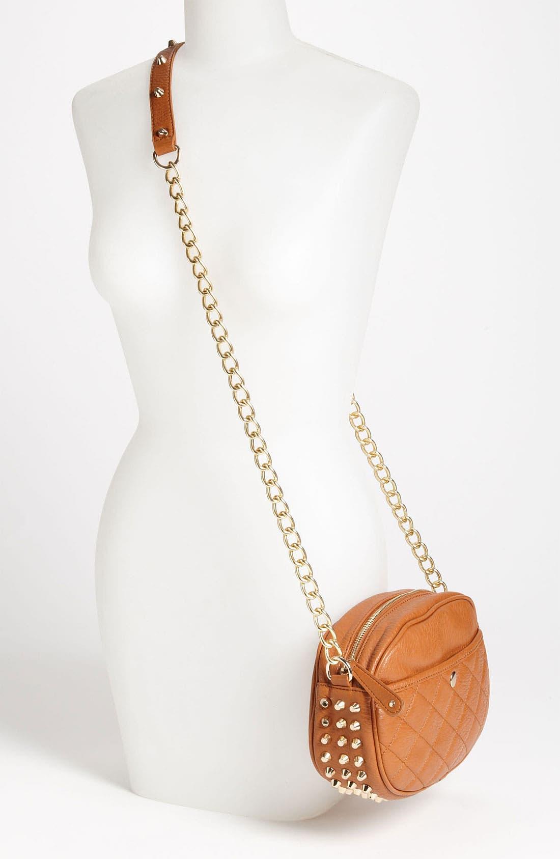 Alternate Image 2  - Street Level Studded Crossbody Bag