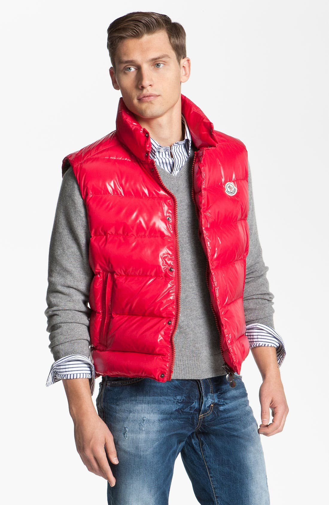 Alternate Image 1 Selected - Moncler 'Tib' Quilted Down Vest