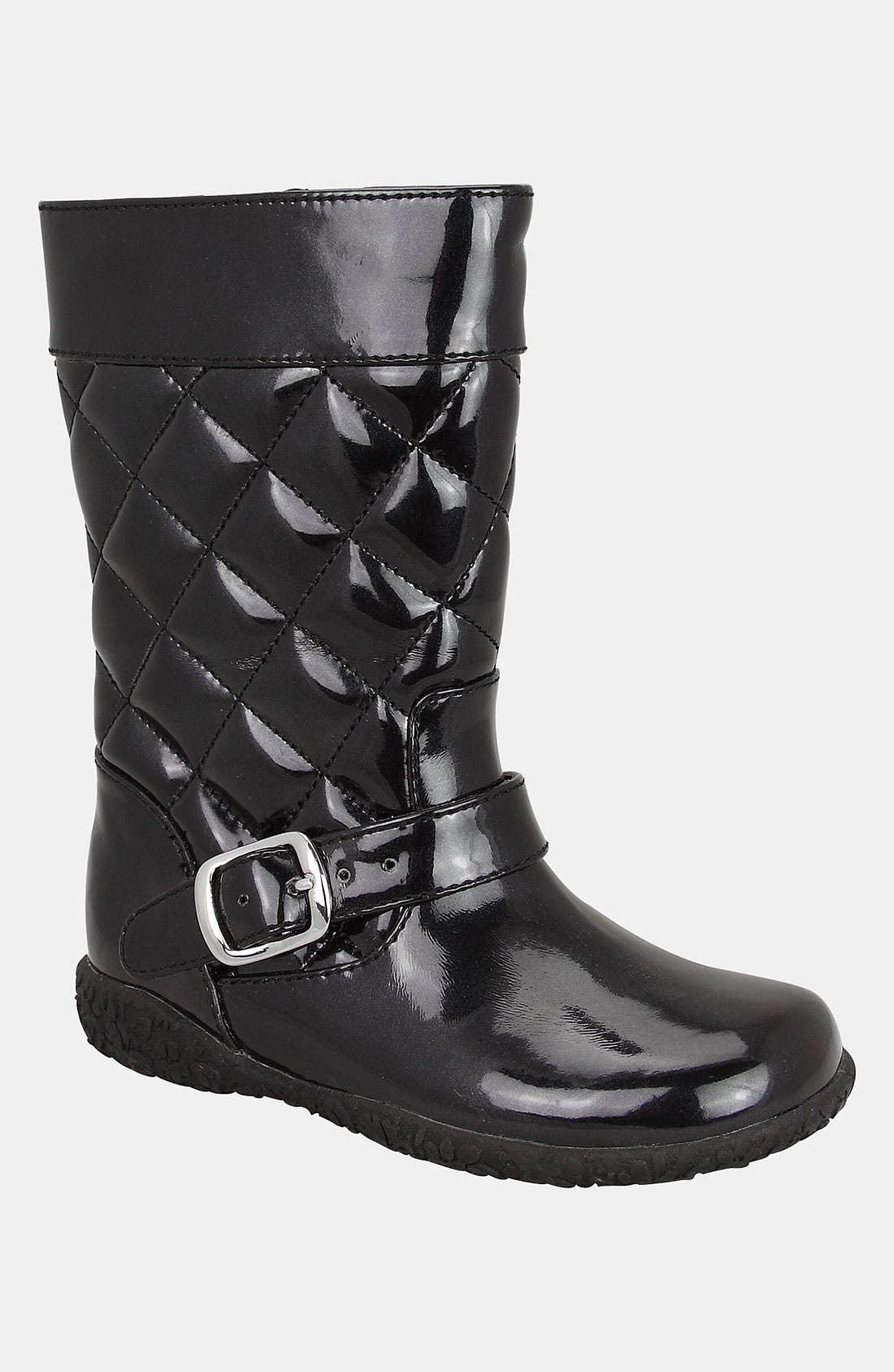 Main Image - Nina 'Bonnie-T' Quilted Boot (Walker & Toddler)