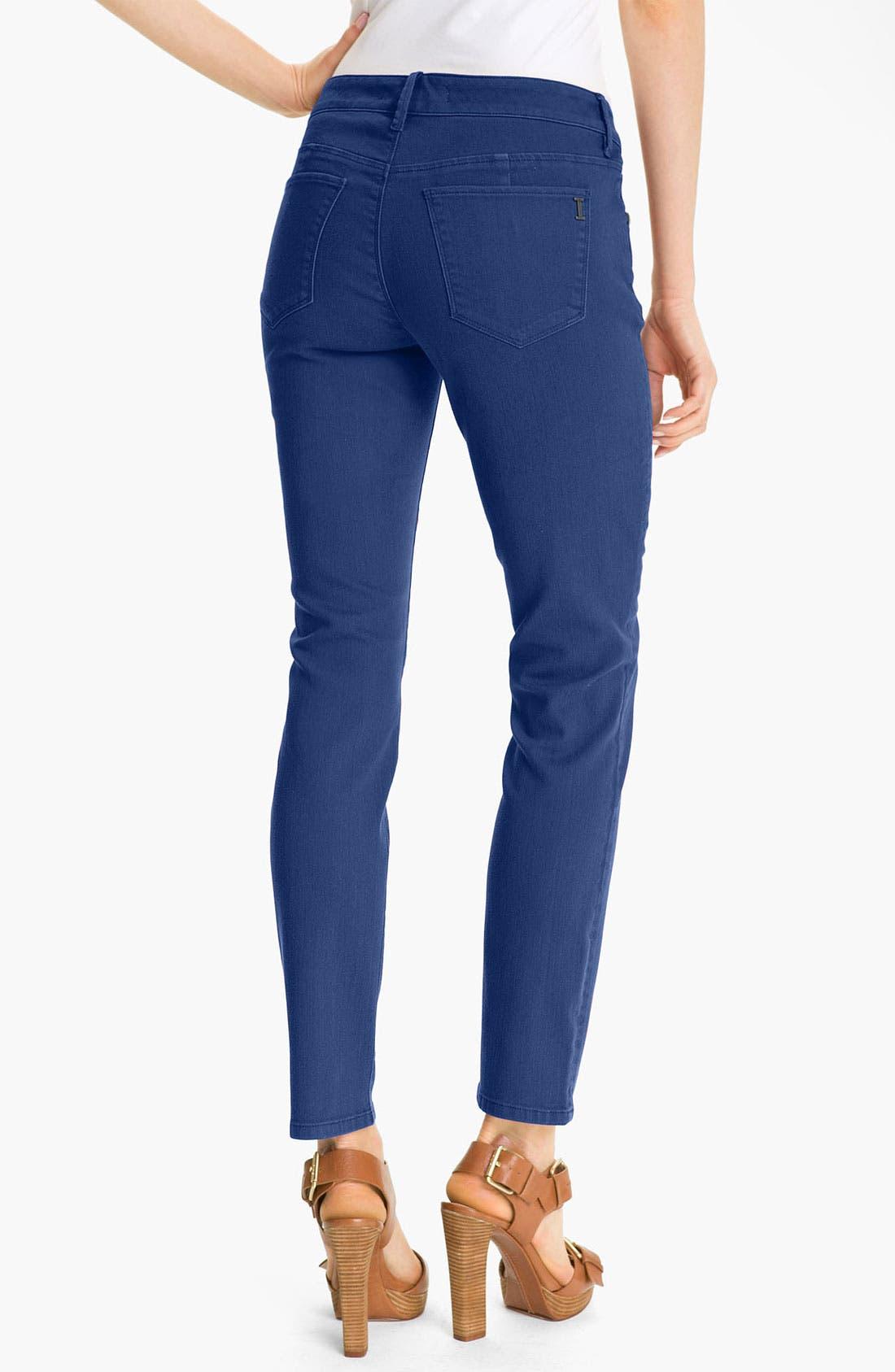 Alternate Image 2  - Isaac Mizrahi Jeans 'Samantha' Colored Denim Skinny Jeans