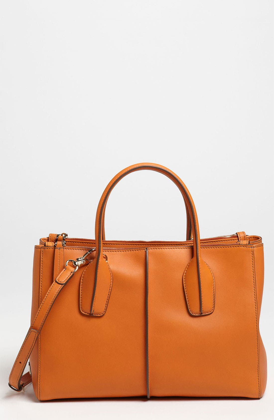 Alternate Image 1 Selected - Tod's 'D-Styling - Small' Leather Shopper