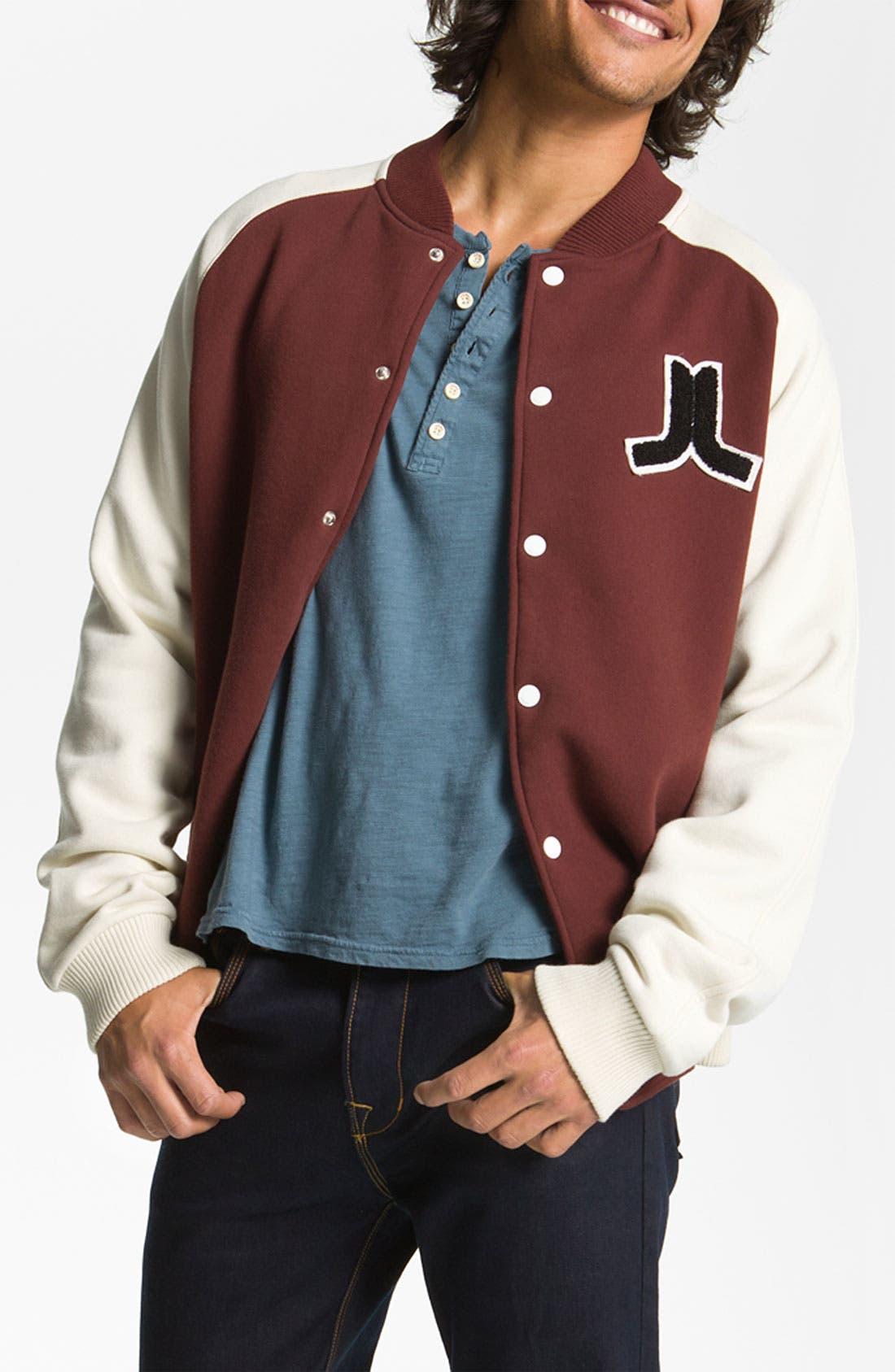 Alternate Image 1 Selected - WeSC 'Balker' Varsity Jacket