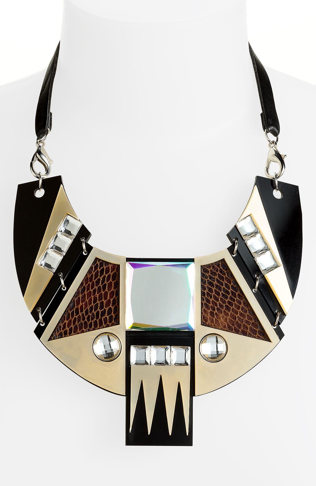 Alternate Image 1 Selected - Spring Street Design Group 'Daly' Bib Necklace
