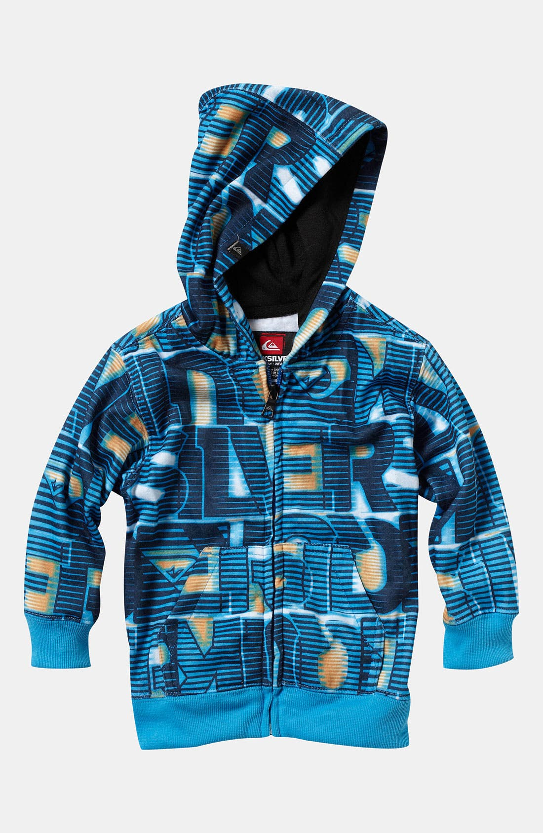 Alternate Image 1 Selected - Quiksilver 'The Tank' Hoodie (Little Boys)
