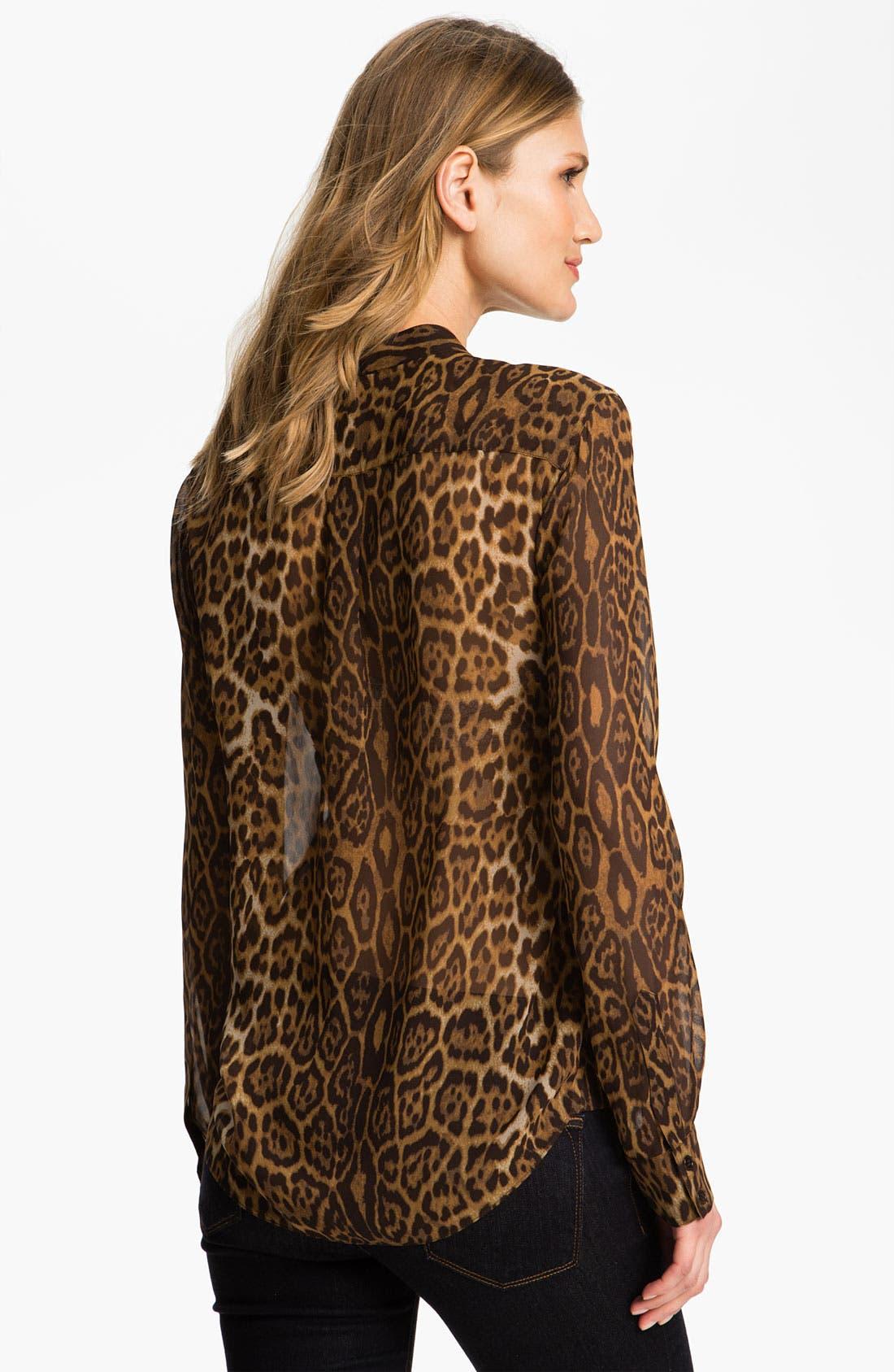 Alternate Image 2  - BCBGMAXAZRIA 'Anderson' Silk Blouse