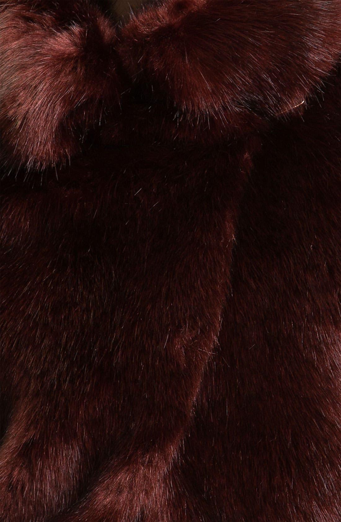 Alternate Image 3  - Ted Baker London Crop Faux Fur Jacket