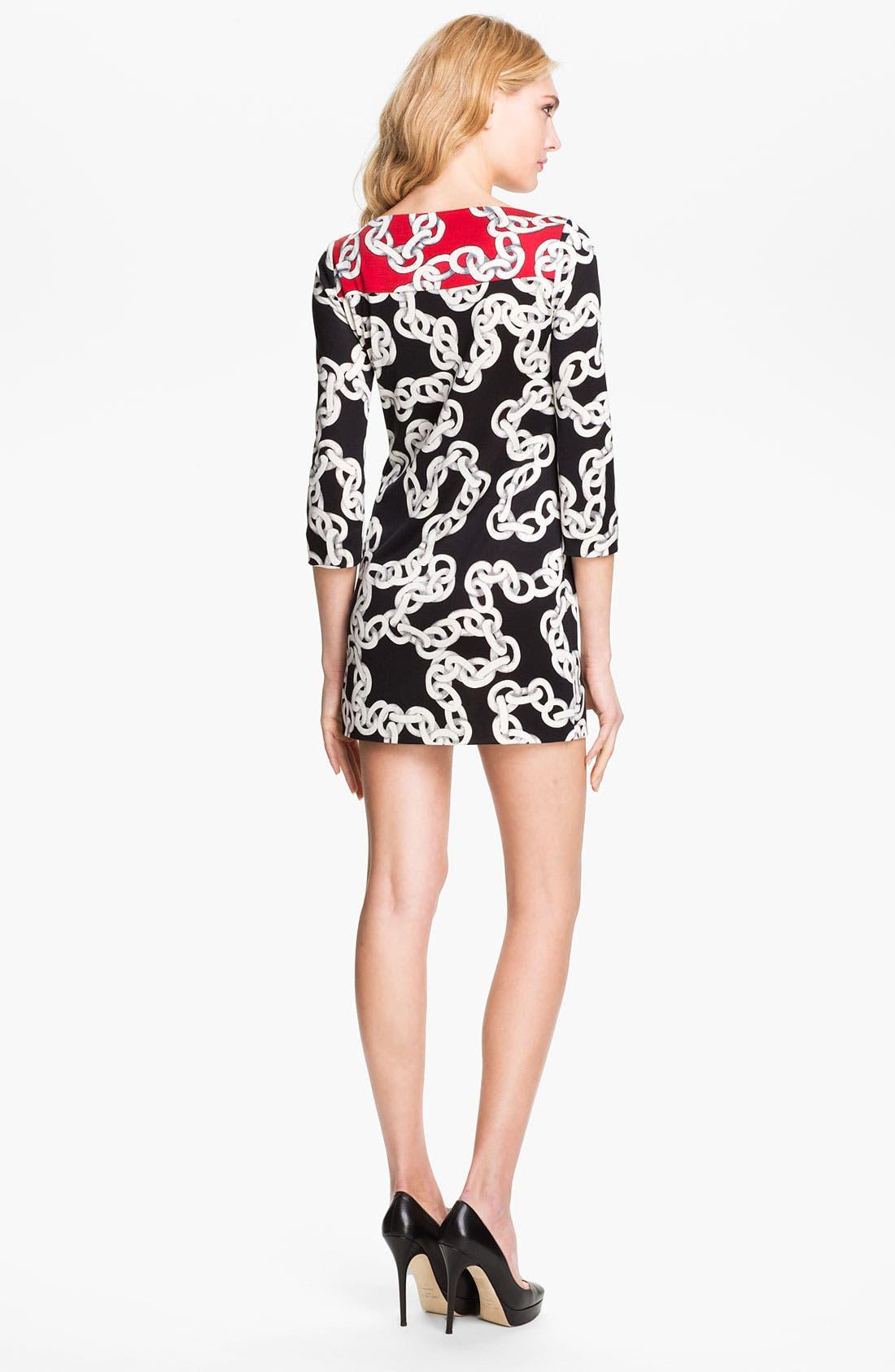 Alternate Image 2  - Diane von Furstenberg 'Ruri' Silk Minidress