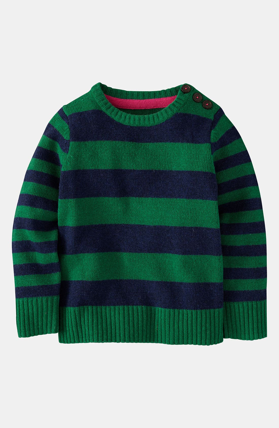 Alternate Image 1 Selected - Mini Boden 'Chunky' Sweater (Toddler)