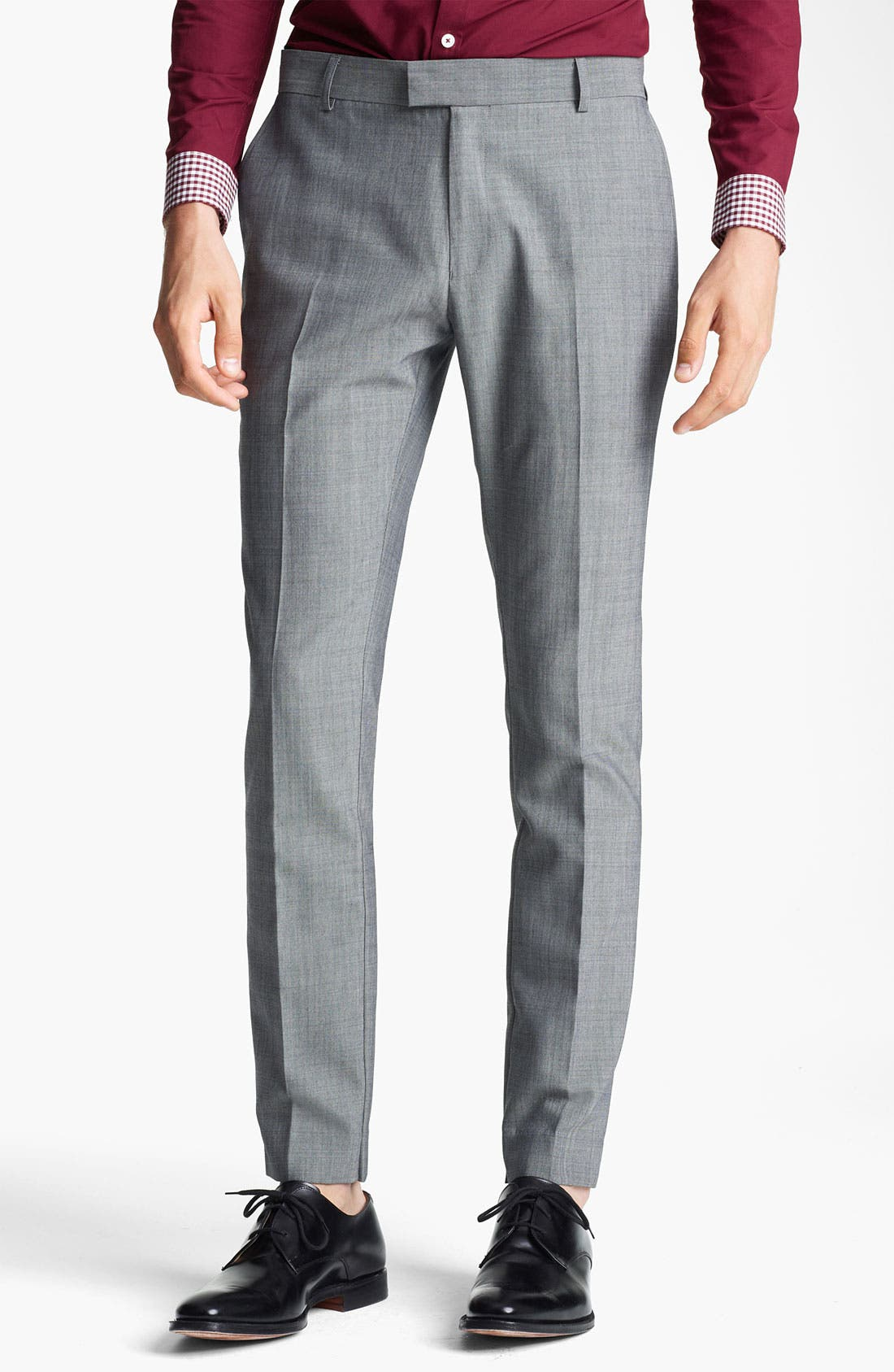 Alternate Image 1 Selected - Topman Skinny Trousers