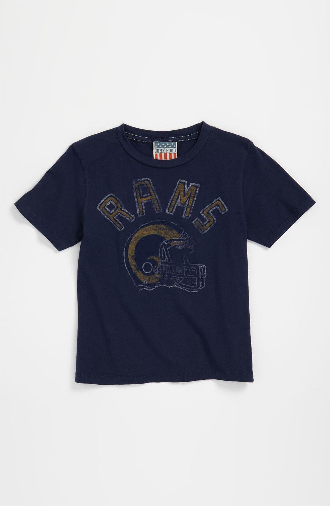Main Image - Junk Food 'St. Louis Rams' T-Shirt (Toddler)