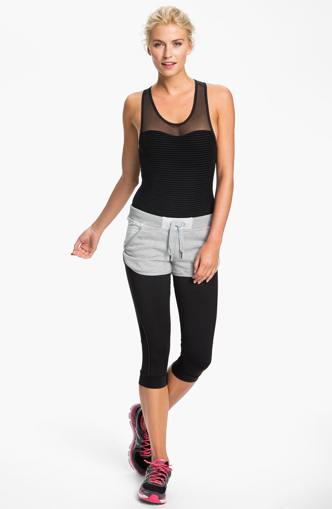 Alternate Image 2  - adidas by Stella McCartney 'Essentials' Organic Cotton Shorts