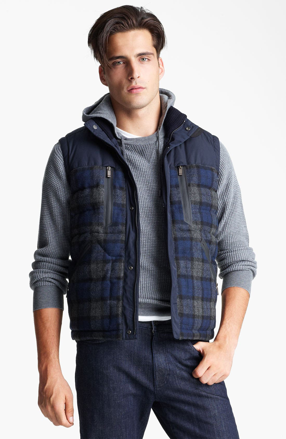 Alternate Image 1 Selected - Zegna Sport Quilted Vest