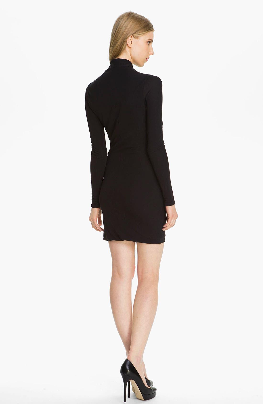 Alternate Image 2  - Halston Heritage Twist Front Jersey Dress