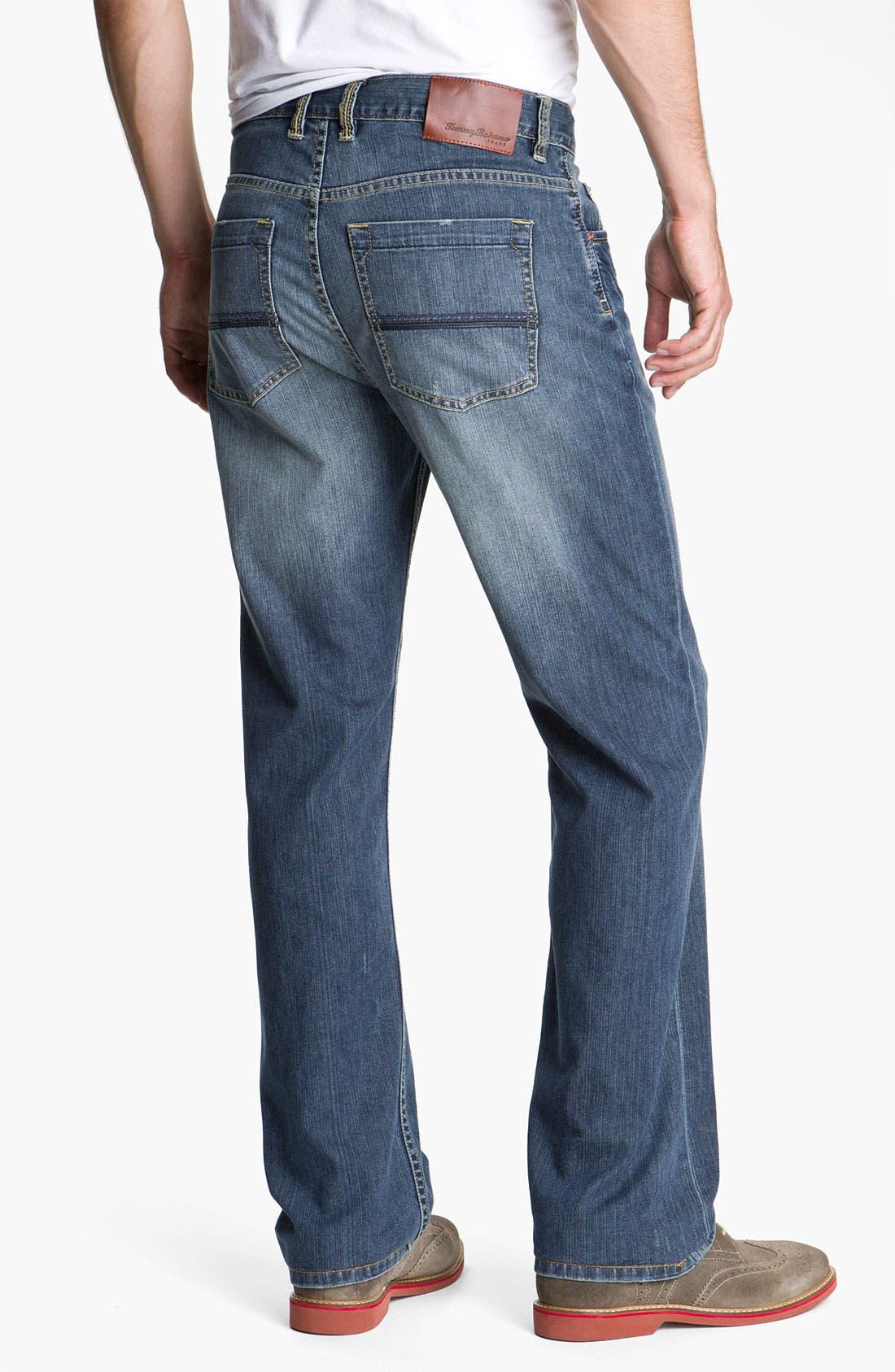 Alternate Image 2  - Tommy Bahama Denim 'Dylan' Standard Fit Jeans (Vintage Medium)(Big & Tall)