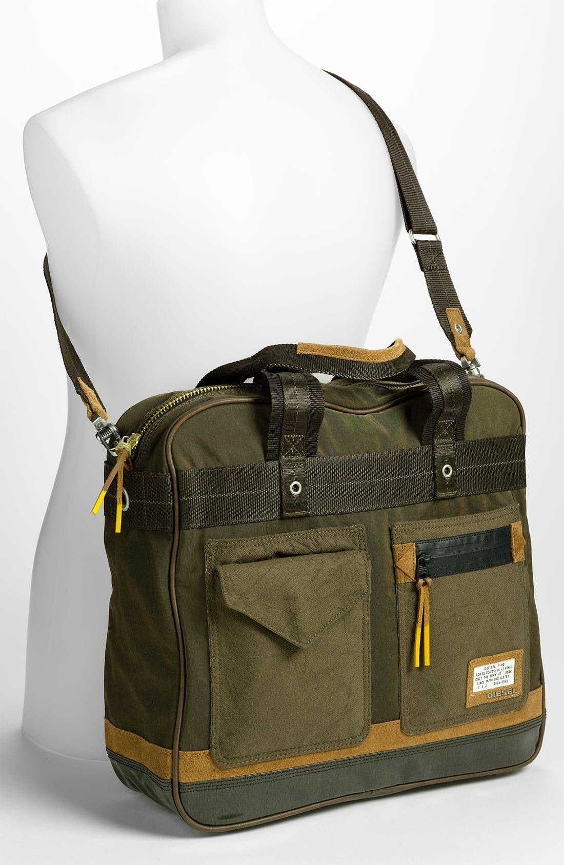 Alternate Image 2  - DIESEL® 'T-Ten' Zip Briefcase
