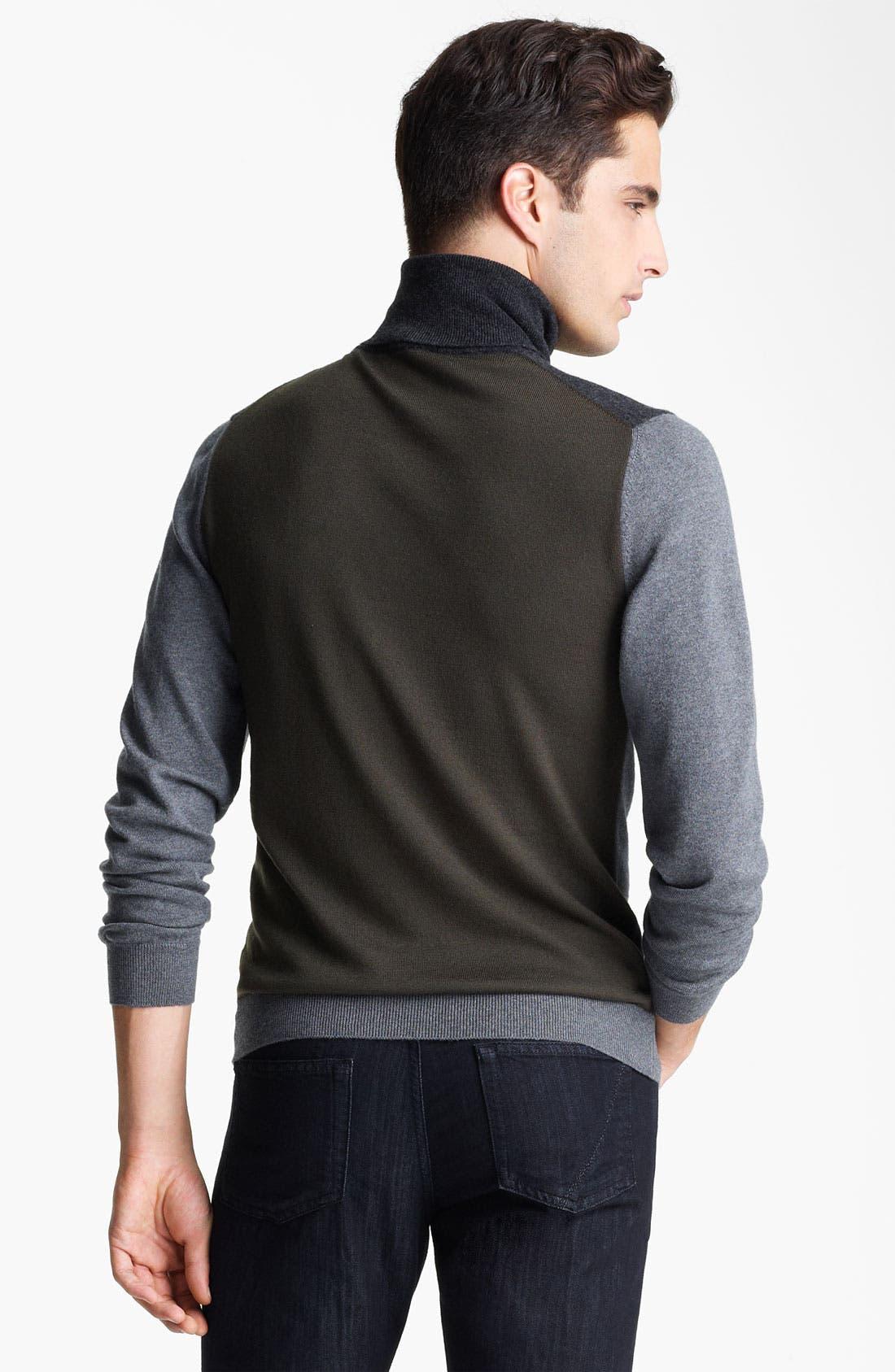 Alternate Image 2  - Z Zegna Wool Turtleneck Sweater