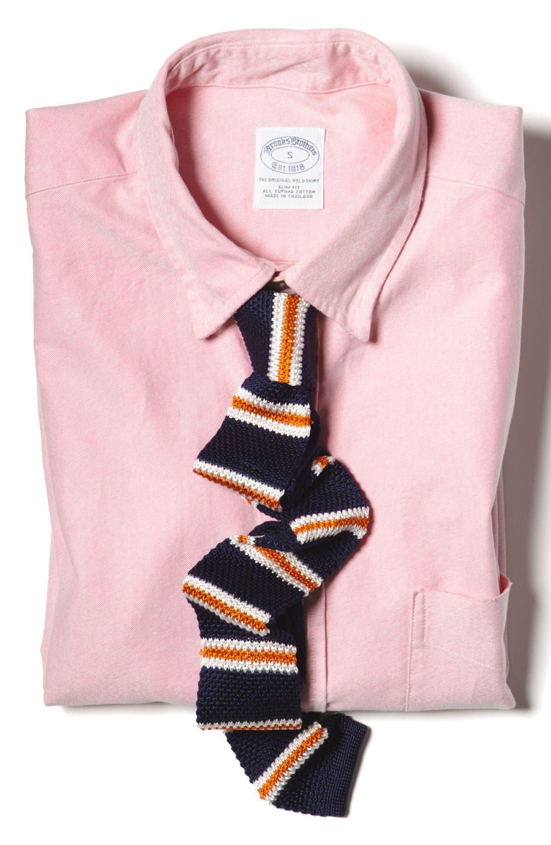 Alternate Image 3  - Brooks Brothers Oxford Shirt