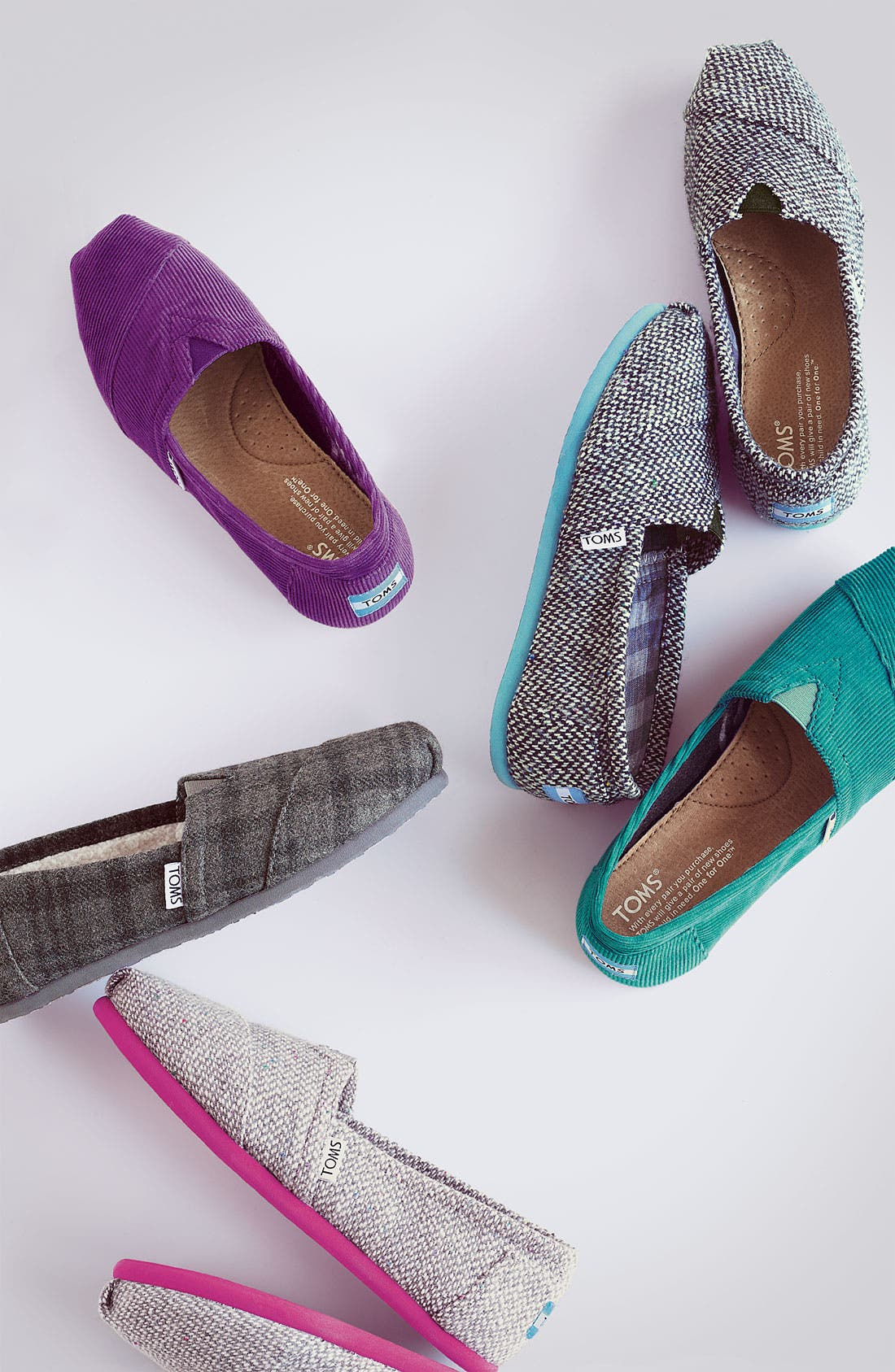 Alternate Image 5  - TOMS 'Classic - Fleckpop' Slip-On (Women) (Nordstrom Exclusive)