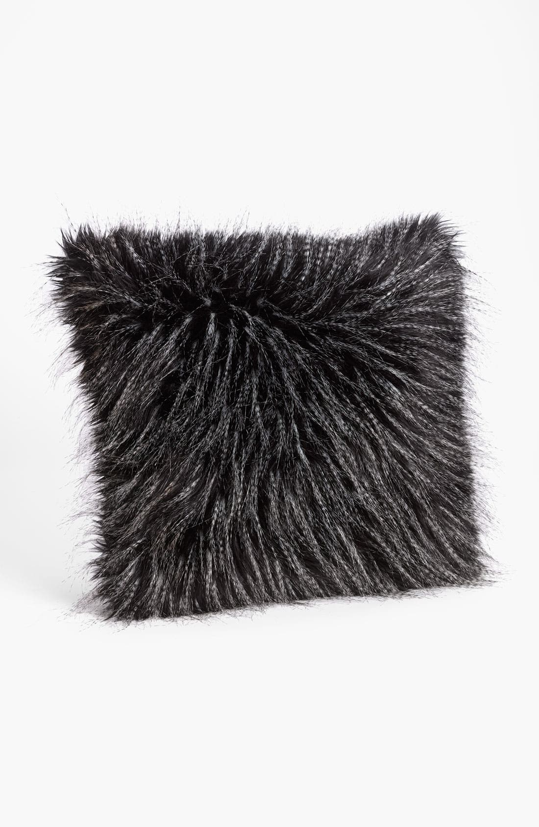 Alternate Image 1 Selected - Brentwood Originals Faux Mink Fur Pillow