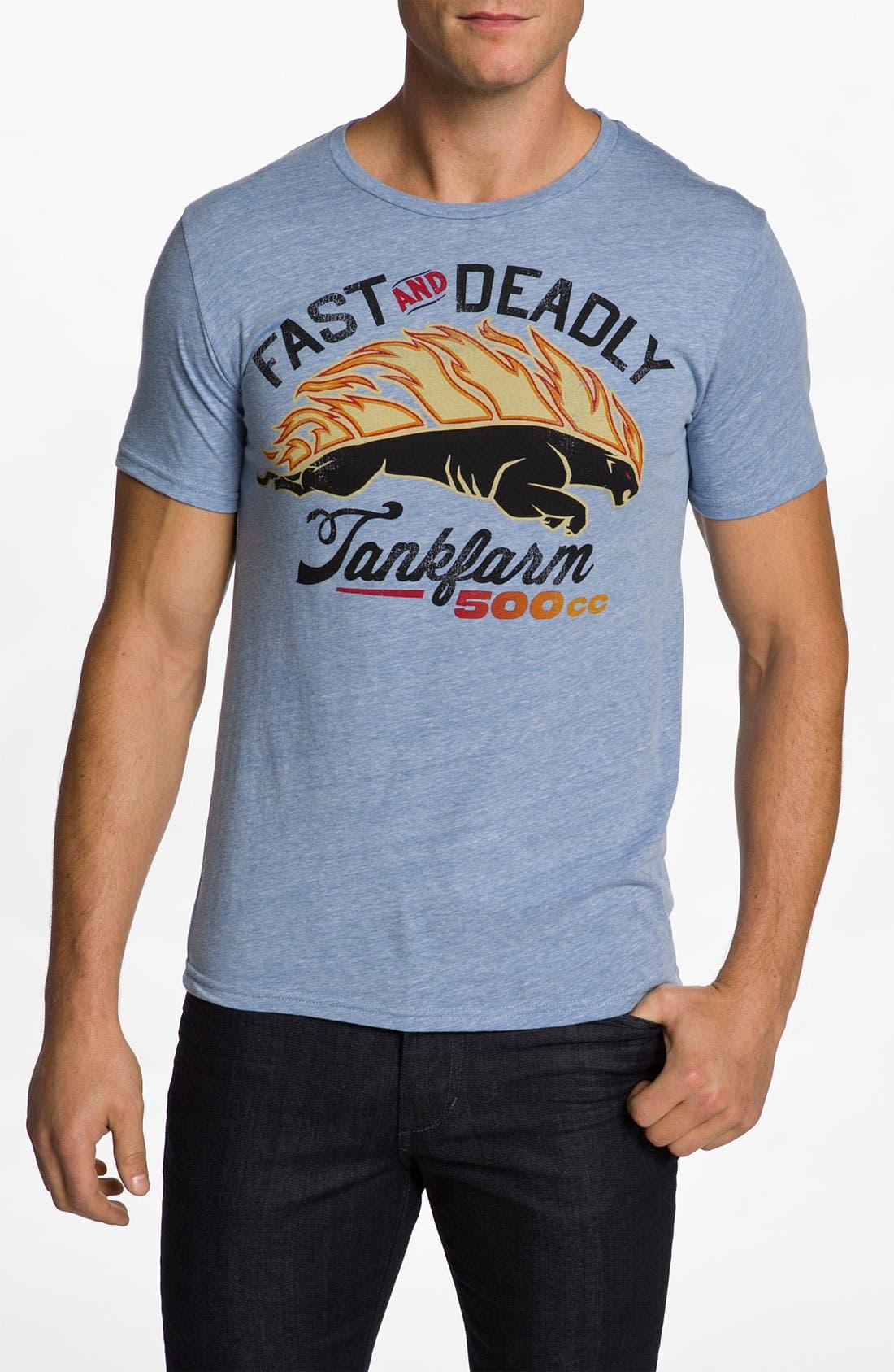 Alternate Image 1 Selected - Tankfarm 'Fast 500' T-Shirt