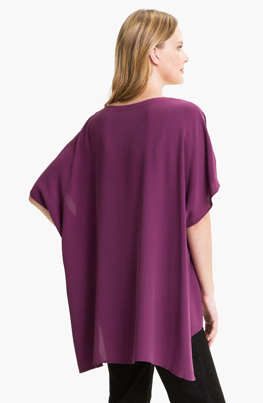 Alternate Image 2  - Eileen Fisher Silk Tunic
