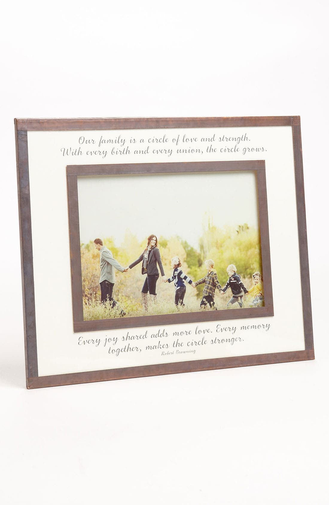 Main Image - Ben's Garden 'Our Family Is a Circle' Picture Frame