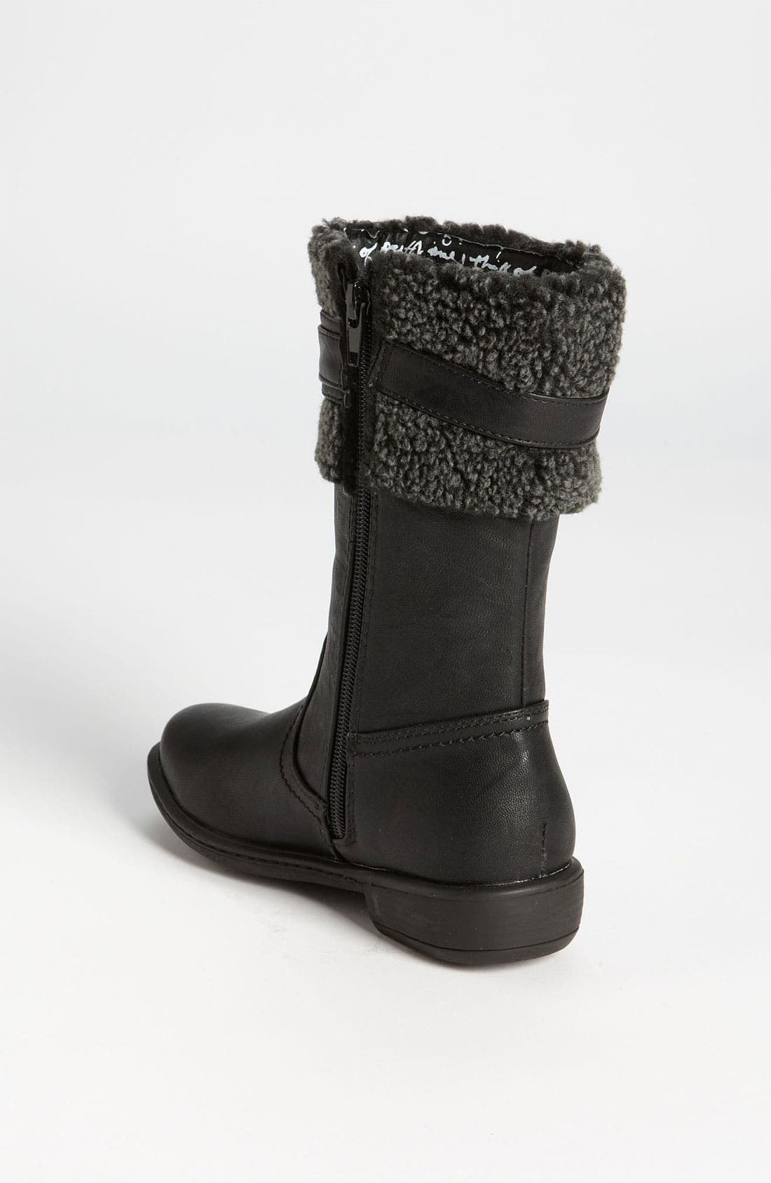 Alternate Image 2  - kensie Faux Fur Trim Boot (Toddler, Little Kid & Big Kid)