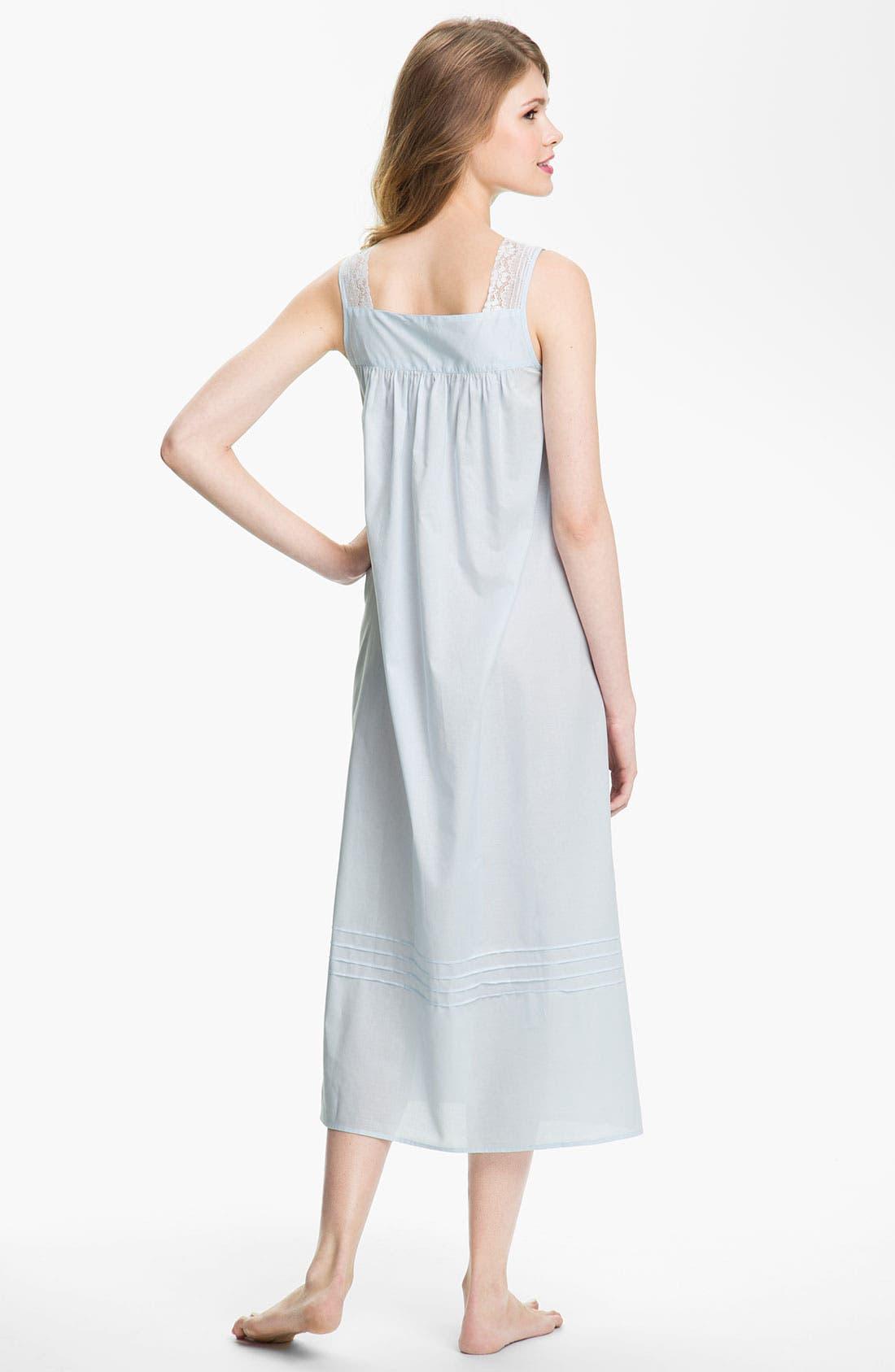 Alternate Image 2  - Eileen West Sleeveless Ballet Nightgown