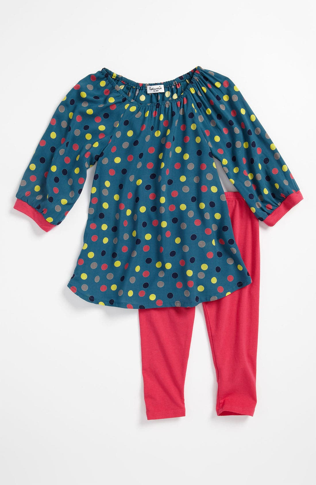 Alternate Image 1 Selected - Splendid 'Mod' Tunic & Leggings (Infant)