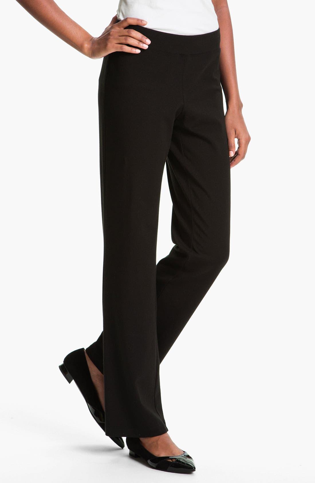 Main Image - Eileen Fisher Slim Boot Cut Pants