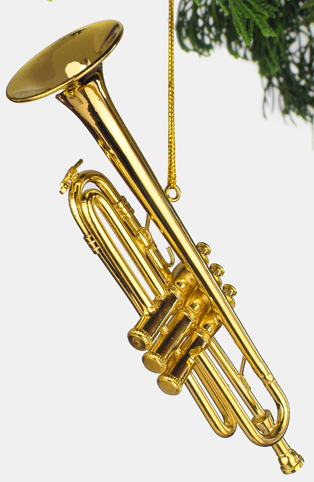 Alternate Image 1 Selected - Broadway Gifts Trumpet Ornament
