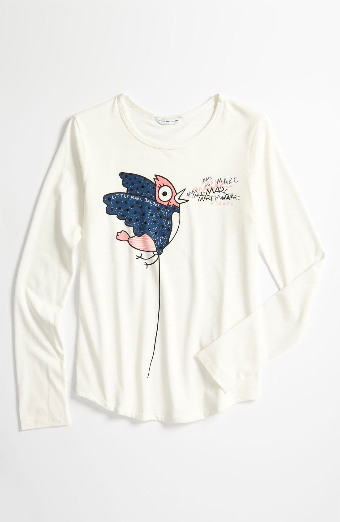 Alternate Image 1 Selected - LITTLE MARC JACOBS Graphic Tee (Little Girls & Big Girls)