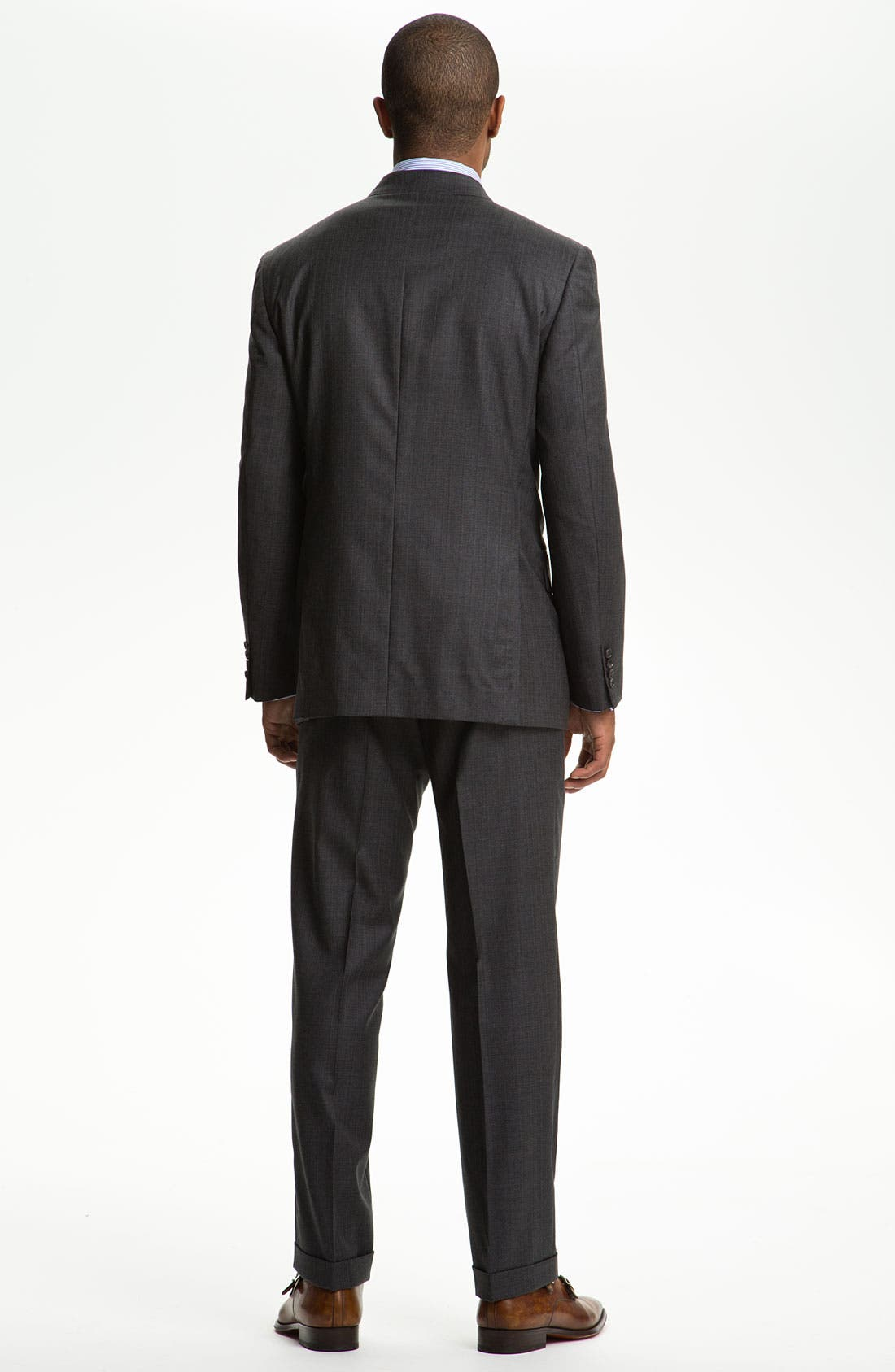 Alternate Image 3  - Joseph Abboud 'Profile' Double Breasted Wool Suit