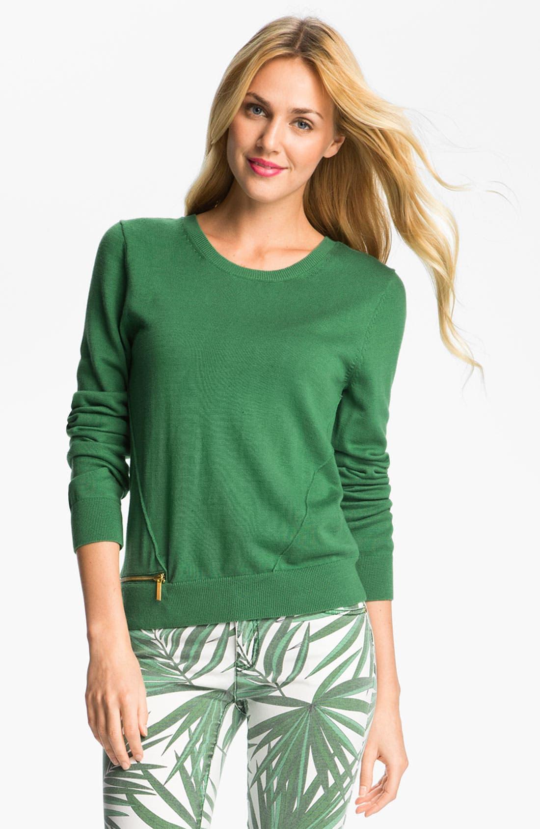 Alternate Image 1 Selected - MICHAEL Michael Kors Crewneck Sweater