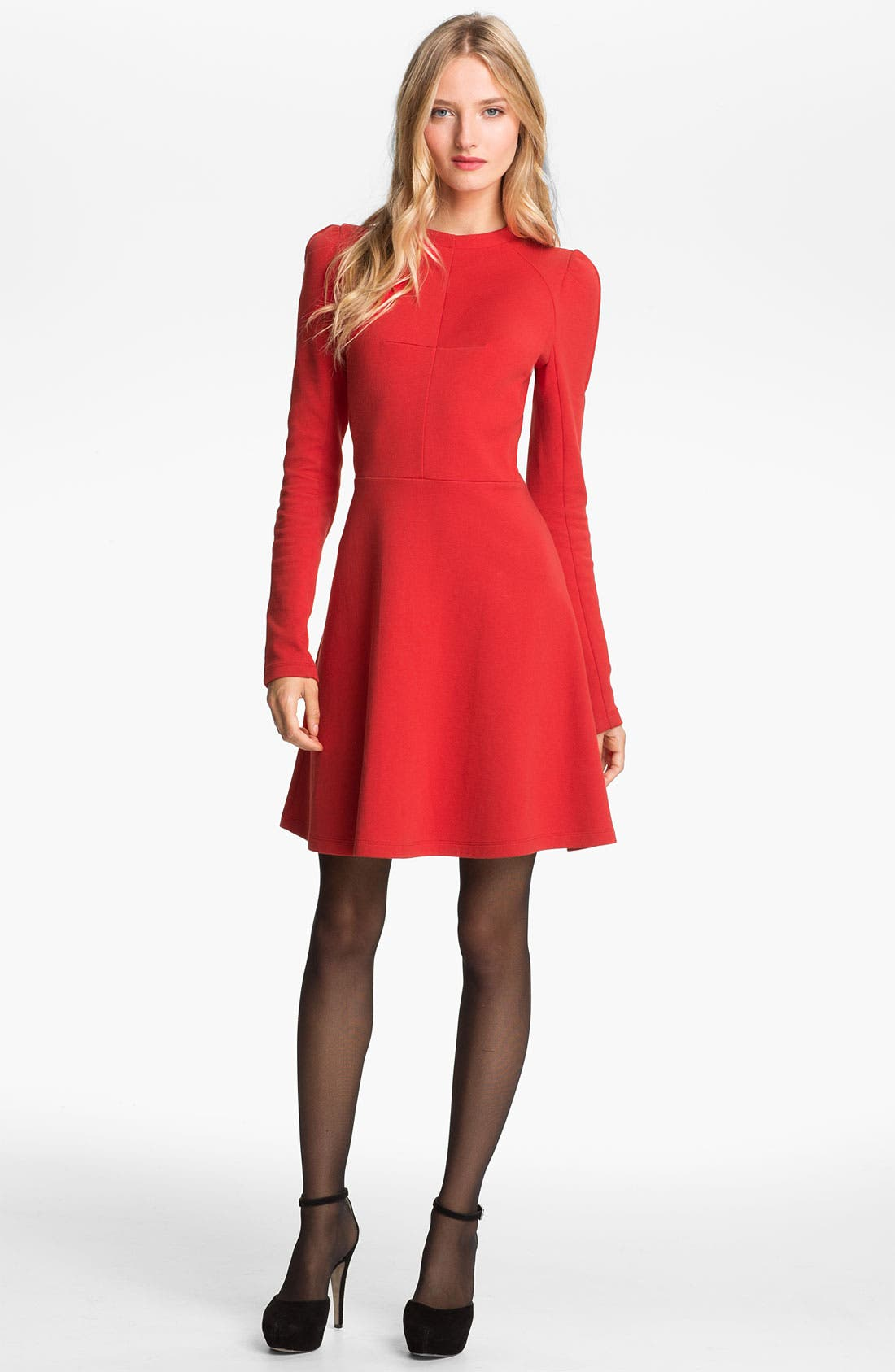 Alternate Image 1 Selected - Carven Seamed Jersey Dress