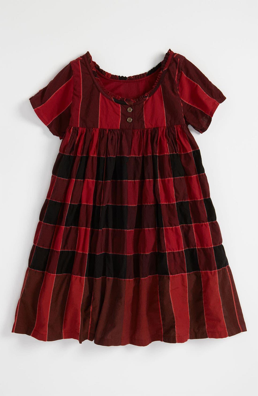 Alternate Image 2  - Burberry Check Print Dress (Little Girls)