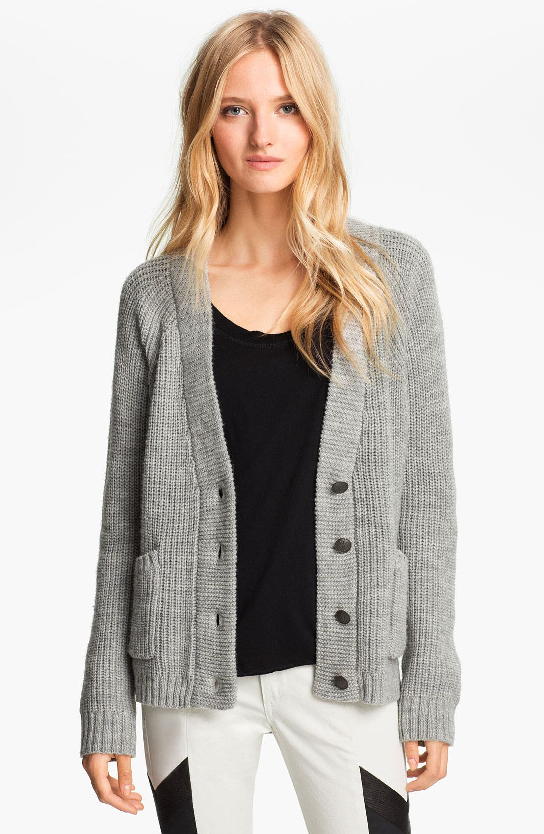 Alternate Image 1 Selected - rag & bone 'Lund' Chunky Knit Cardigan