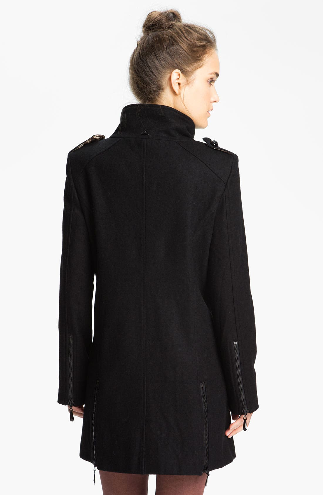 Alternate Image 2  - Sam Edelman Double Breasted Wool Jacket