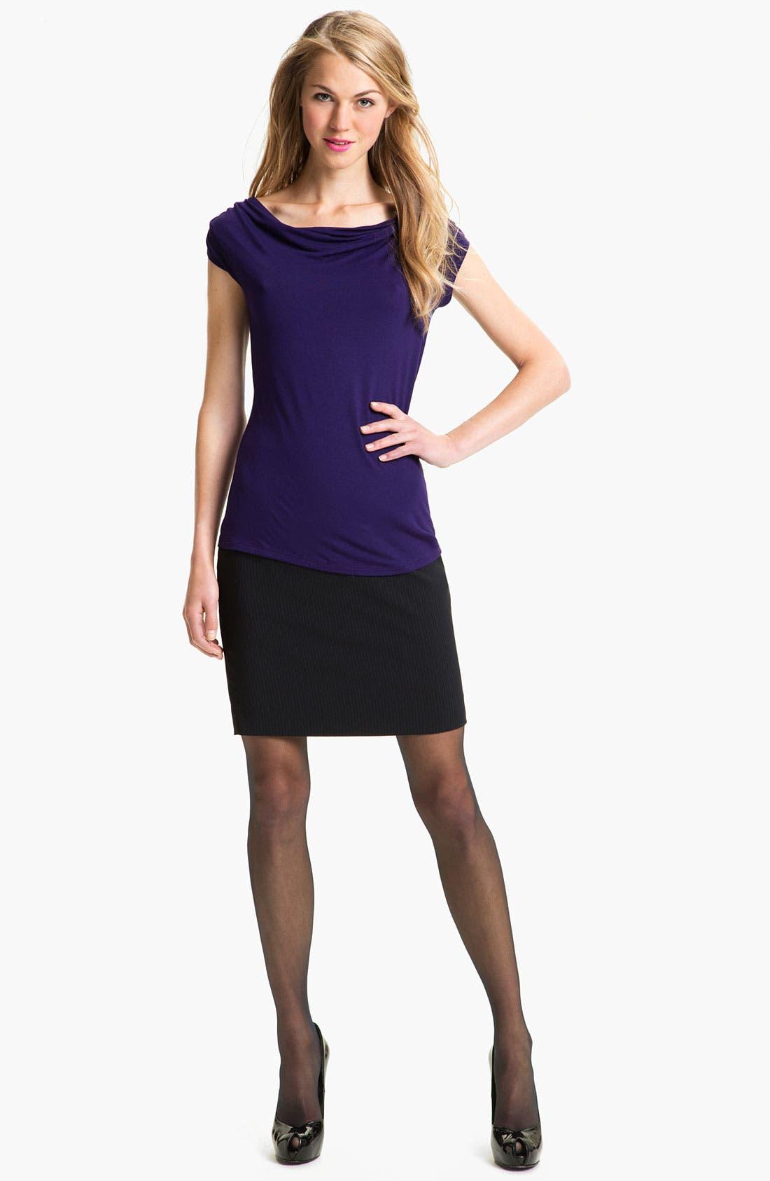 Alternate Image 4  - T Tahari 'Demsy' Skirt (Petite)