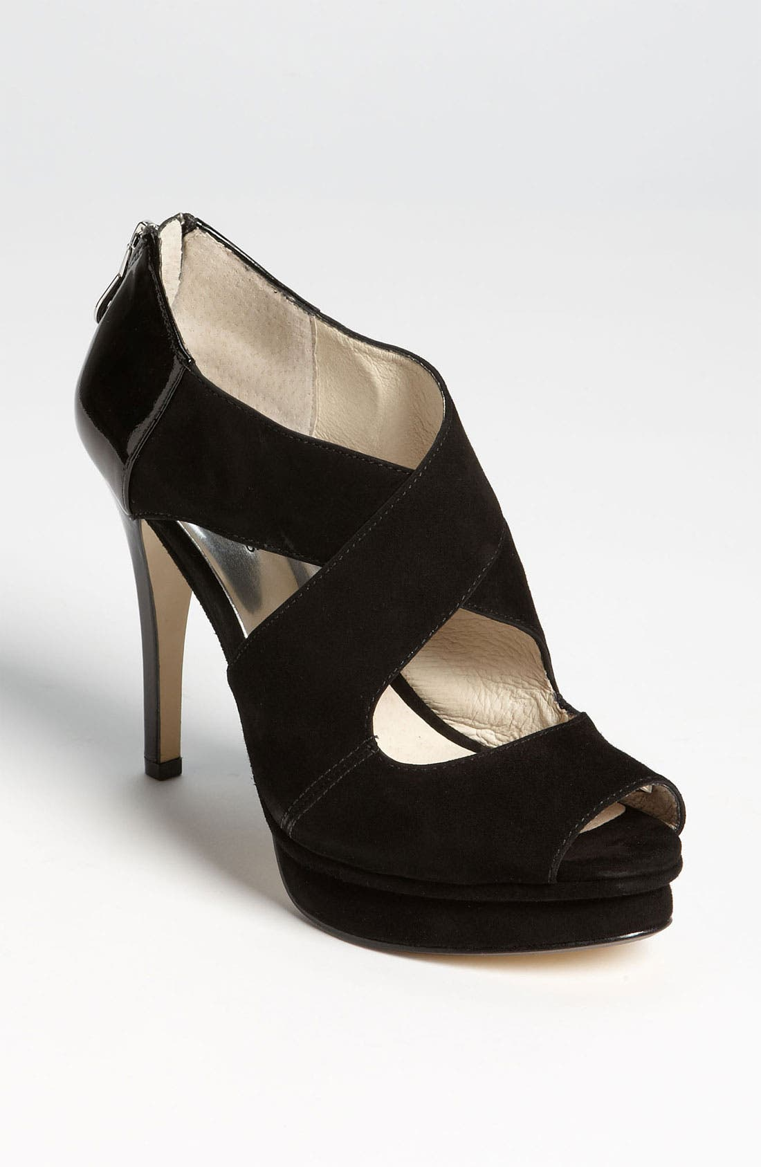 Alternate Image 1 Selected - MICHAEL Michael Kors 'Elena' Cross Strap Sandal