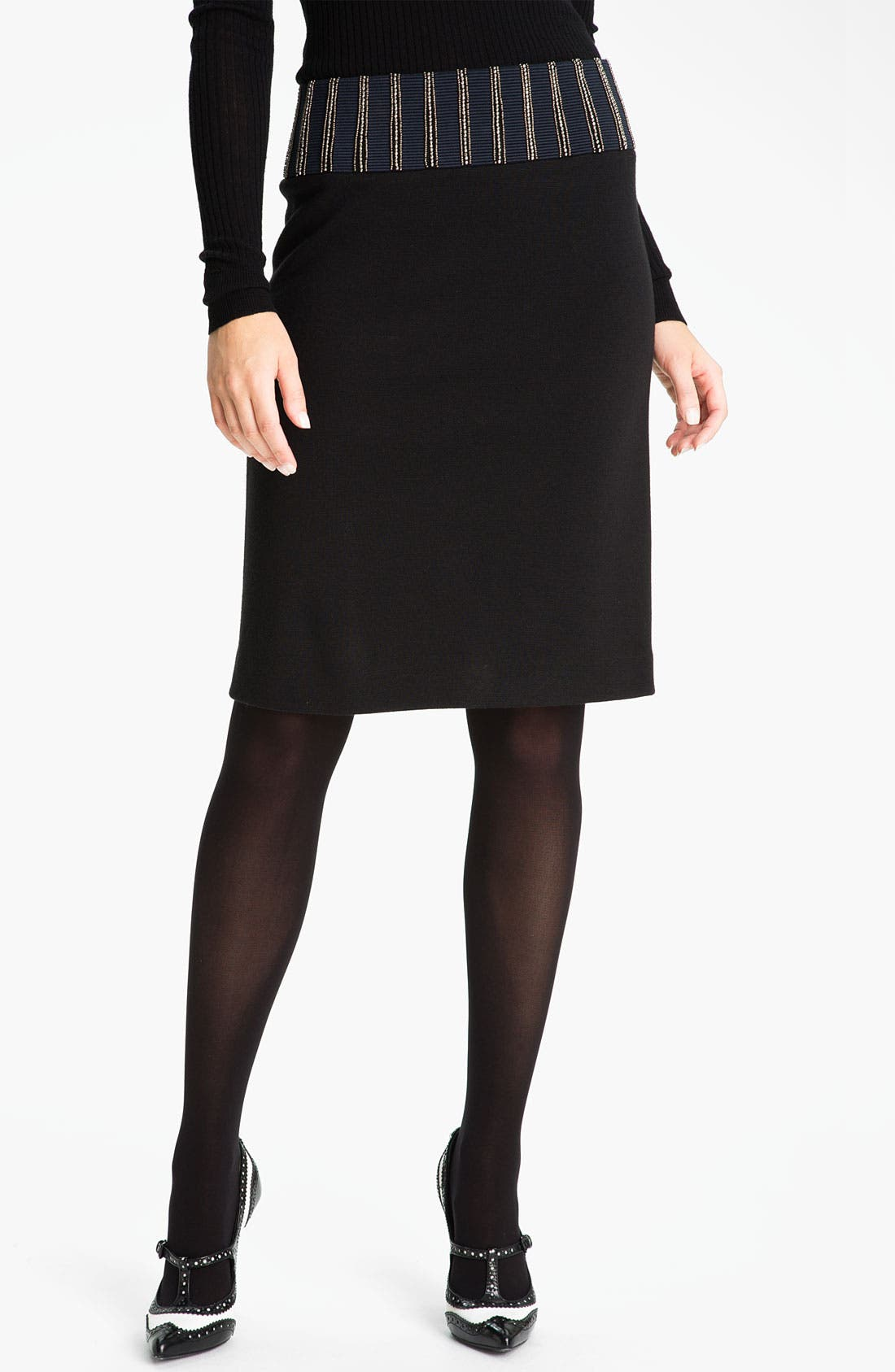 Main Image - Tory Burch 'Thalia' Pencil Skirt (Online Exclusive)