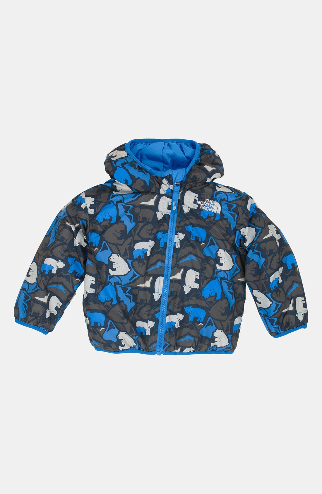 Alternate Image 1 Selected - The North Face 'Perrito' Reversible Jacket (Baby)