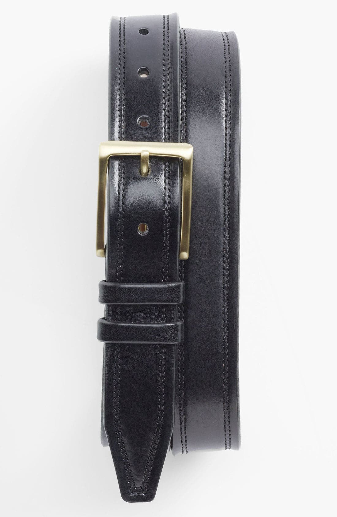 Alternate Image 1 Selected - John W. Nordstrom® Leather Belt