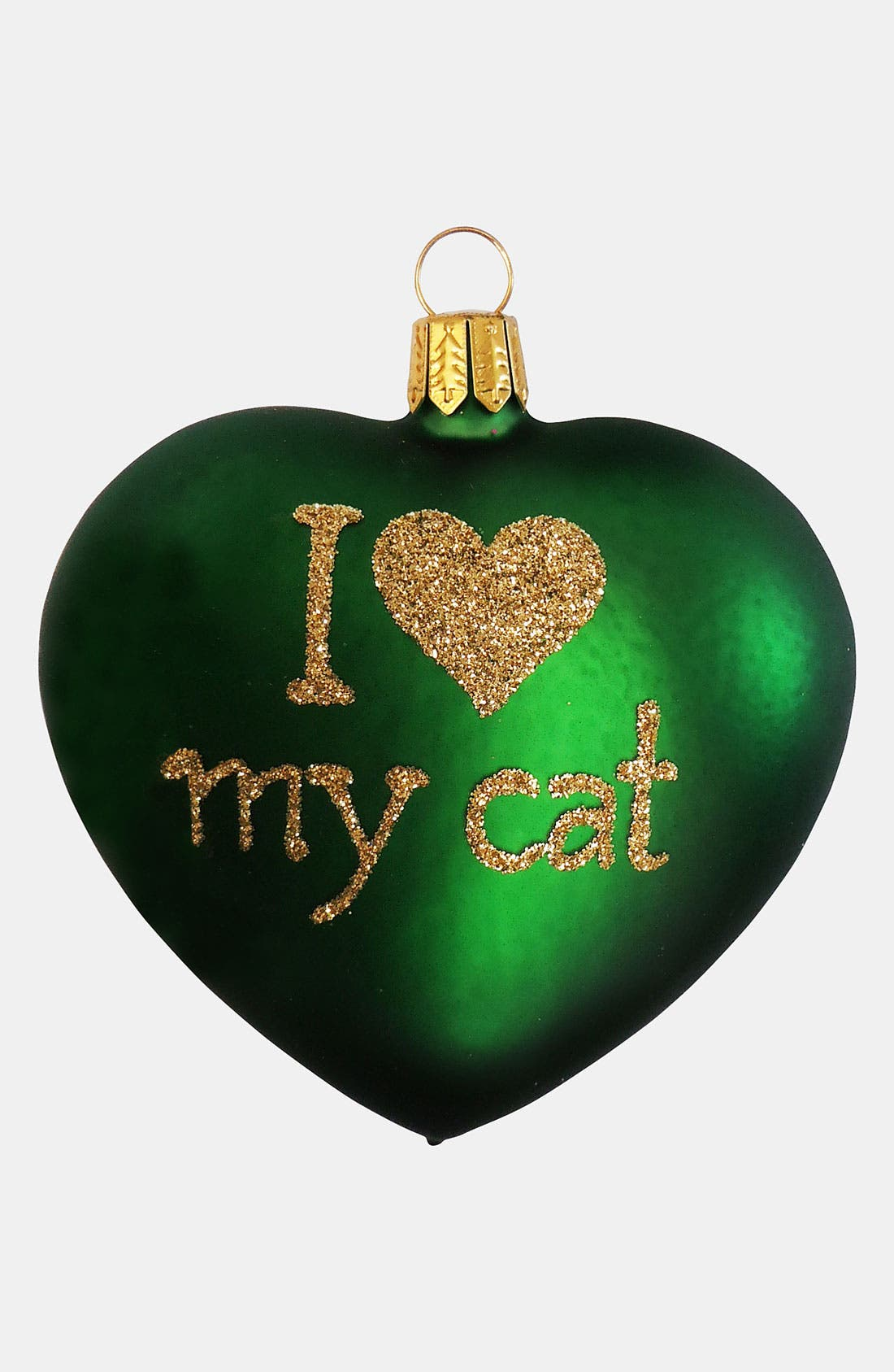 Alternate Image 1 Selected - Nordstrom at Home 'I Love My Cat' Ornament